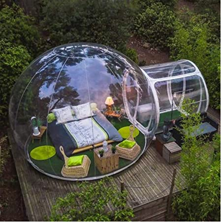 Transparent Inflatable Bubble Camping Tent and Air Pump 110V