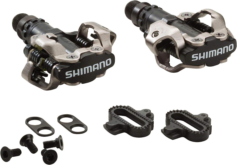 SHIMANO E-PDM520 - Pedales para Bicicleta de montaña: Amazon.es ...
