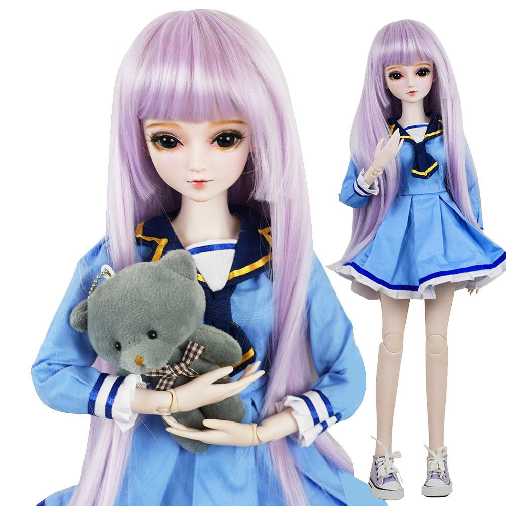 Sarah 1/3 SD Doll 24'' Jointed Gift BJD Doll +Makeup +Full Set Lovers' Gift