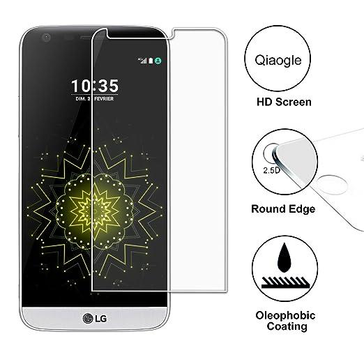 2 opinioni per Qiaogle Premium Temperato di Protezione di Vetro Film per LG G5 / G5 Dual (5.3