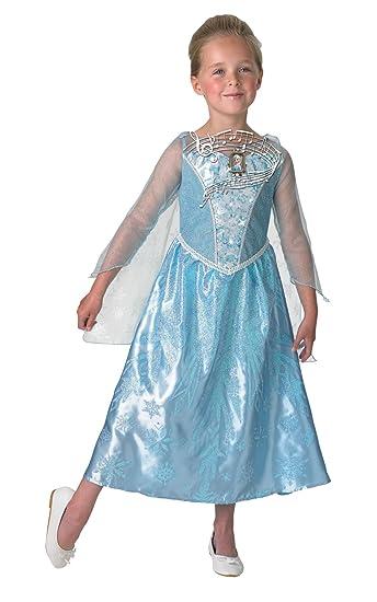 De Disney Frozen Elsa Musical & Light Up - Childrens Disfraz