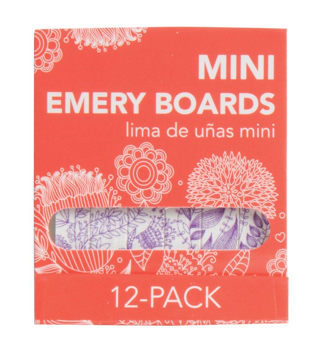 Amazon.com : MayaBeauty Mini Emery Board 12 pack - Purple, Nail File ...