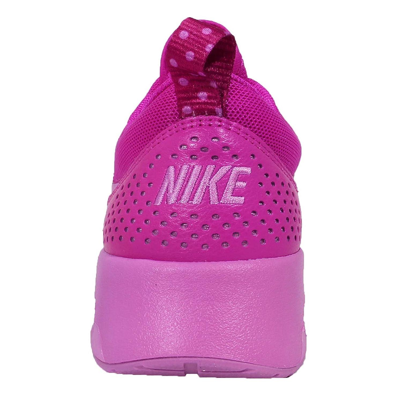 NIKE Women's Air Max Thea 5 Low-Top Sneakers, Black B00MFRU59W 5 Thea M US|Fucshia Flash/Fuchsia Glow 36e684