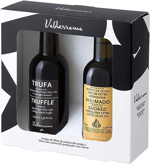 Valderrama - Estuche Regalo Aceite Ahumado + Aceite de Trufa Negra (2 botellas 100 ml): Amazon.es: Alimentación y bebidas