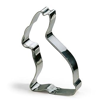 Kaiser WMF - Molde de Metal para Cortar Galletas, Forma de Conejito, 13 cm: Amazon.es: Hogar