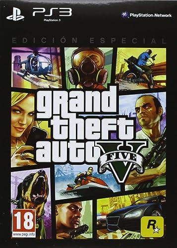Grand Theft Auto V (GTA 5) - Edición Especial: Amazon.es: Videojuegos