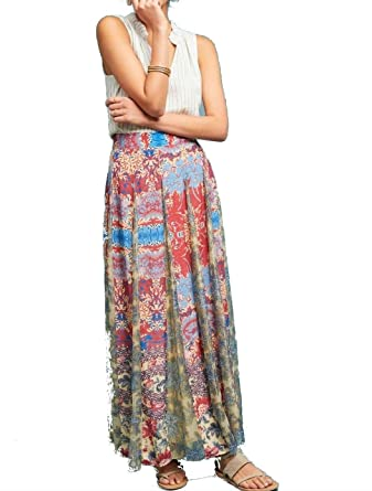 17c6b2fd22e7f Anthropologie Louvre Maxi Skirt by Hemant & Nandita - NWT (XS) at ...