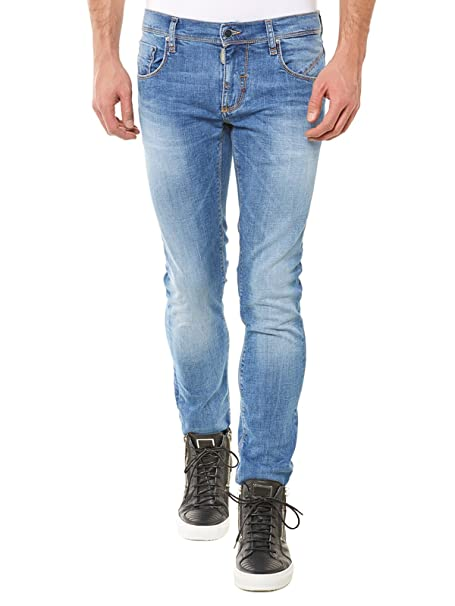 Antony Morato Don Giovanni Skinny Jeans Azul Blue - Blue ...