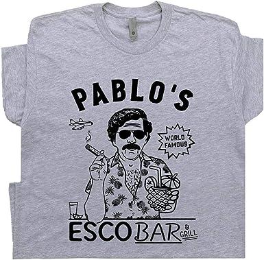 PABLO ESCOBAR T SHIRT MUGSHOT PREMIUM COTTON