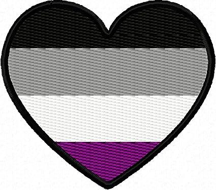 Asexual flag heart