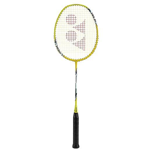 YONEX Arcsaber Light 10i Strung Badminton Racquet   Yellow , G4 , 75 79.9 grams , 30 pounds   Racquets