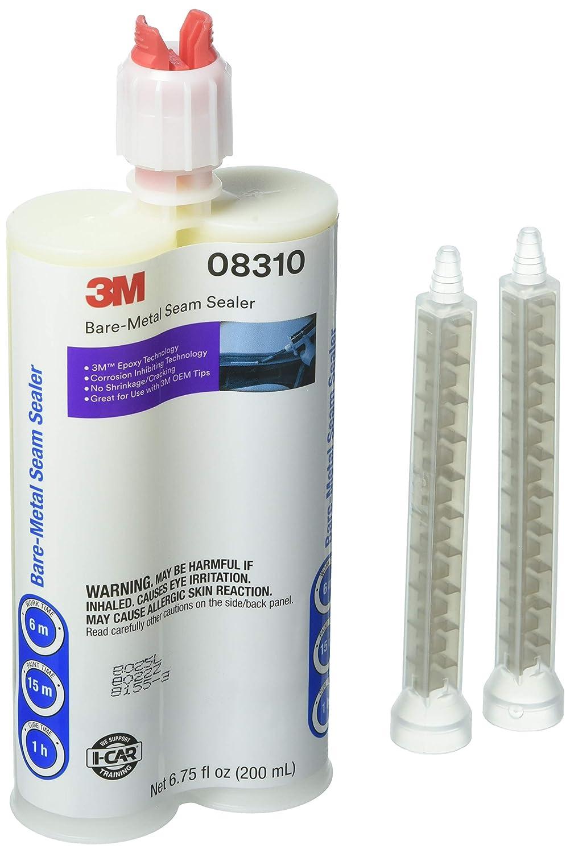 3M Bare-Metal Seam Sealer, 08310, Beige, 200 mL Cartridge