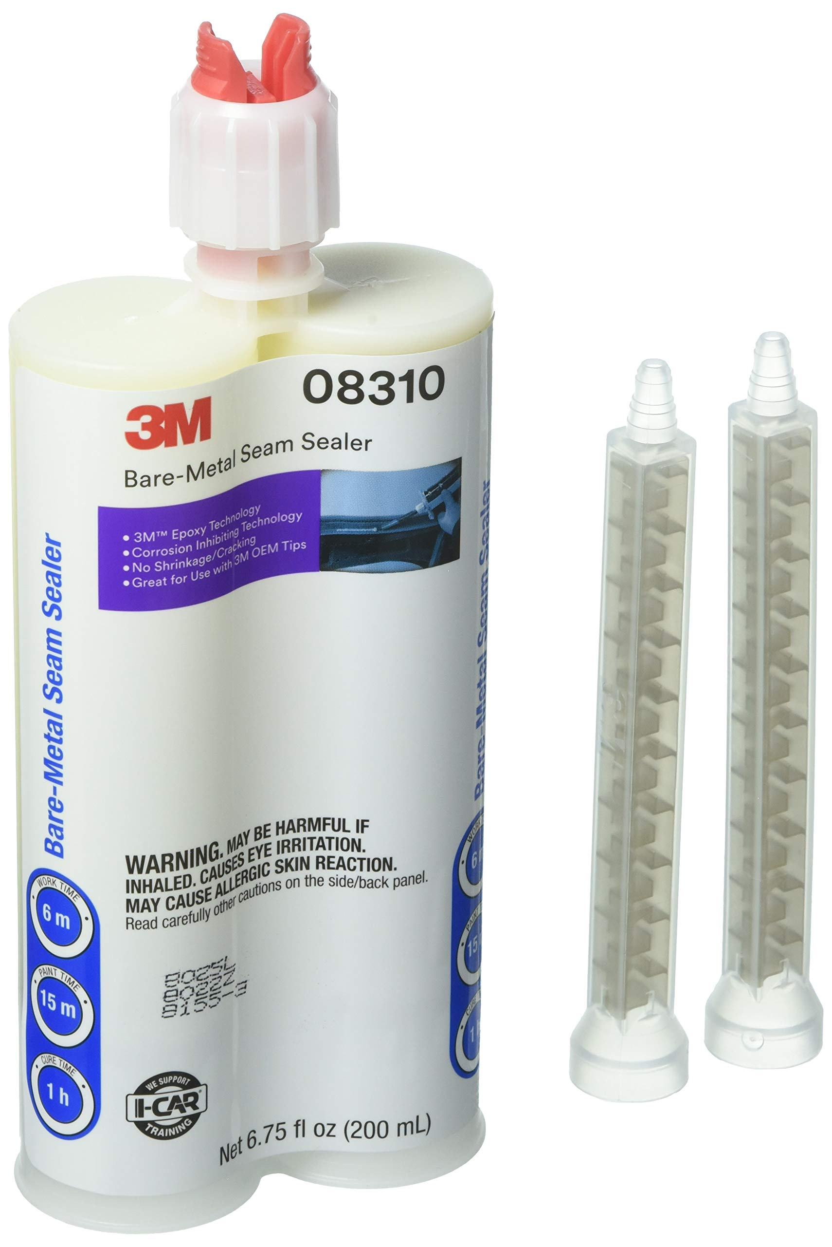 3M 08310 Beige Bare-Metal Seam Sealer - 200 ml by 3M