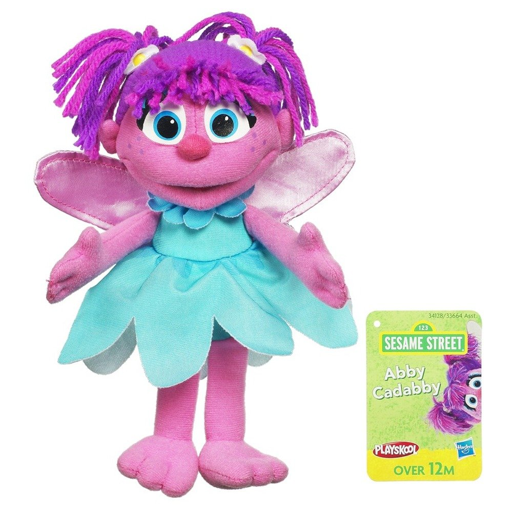 Sesame Street Plush Abby Cadabby 9 Inch