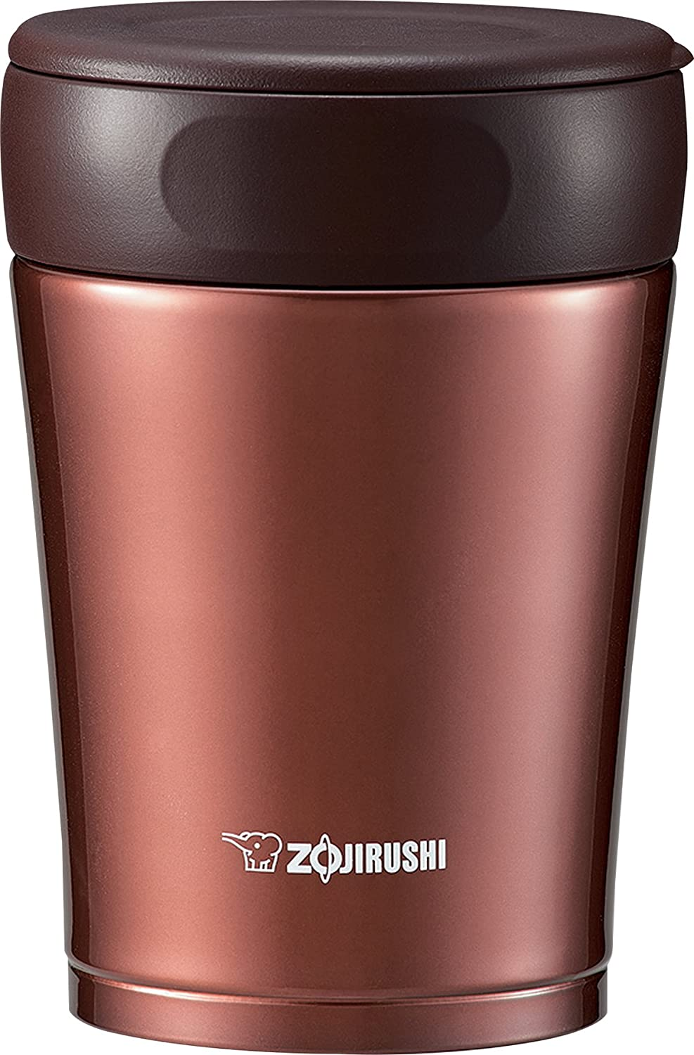 Zojirushi Stainless Steel Food Jar, Cherry Red SW-GCE36RA