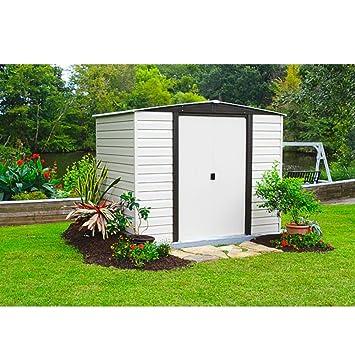 Vitavia Gewächshäuser Arrow Metal de Dispositivo Casa Berlin 106 Jardín Casa Caseta 5, 28 M² Bloque casa Aspecto: Amazon.es: Jardín