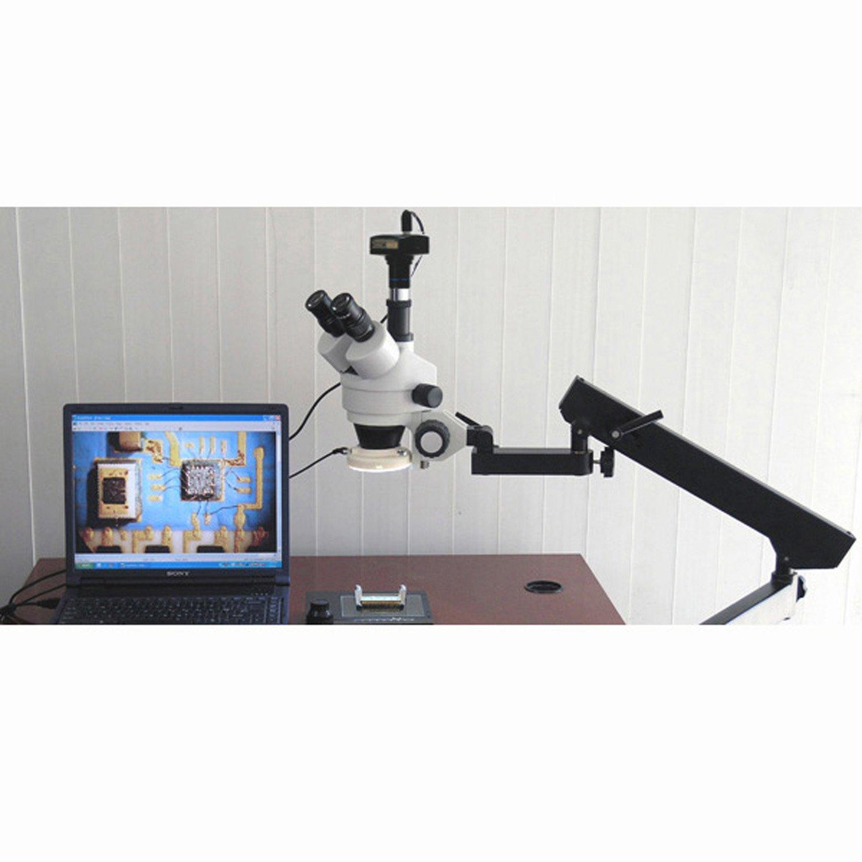 3,5 X 45 45 45 X Gelenkige Trinokular Zoom Mikroskop mit Ring Light B005MKPZ6M | Spielen Sie Leidenschaft, spielen Sie die Ernte, spielen Sie die Welt  | Zuverlässiger Ruf  | Viele Sorten  60b6d5