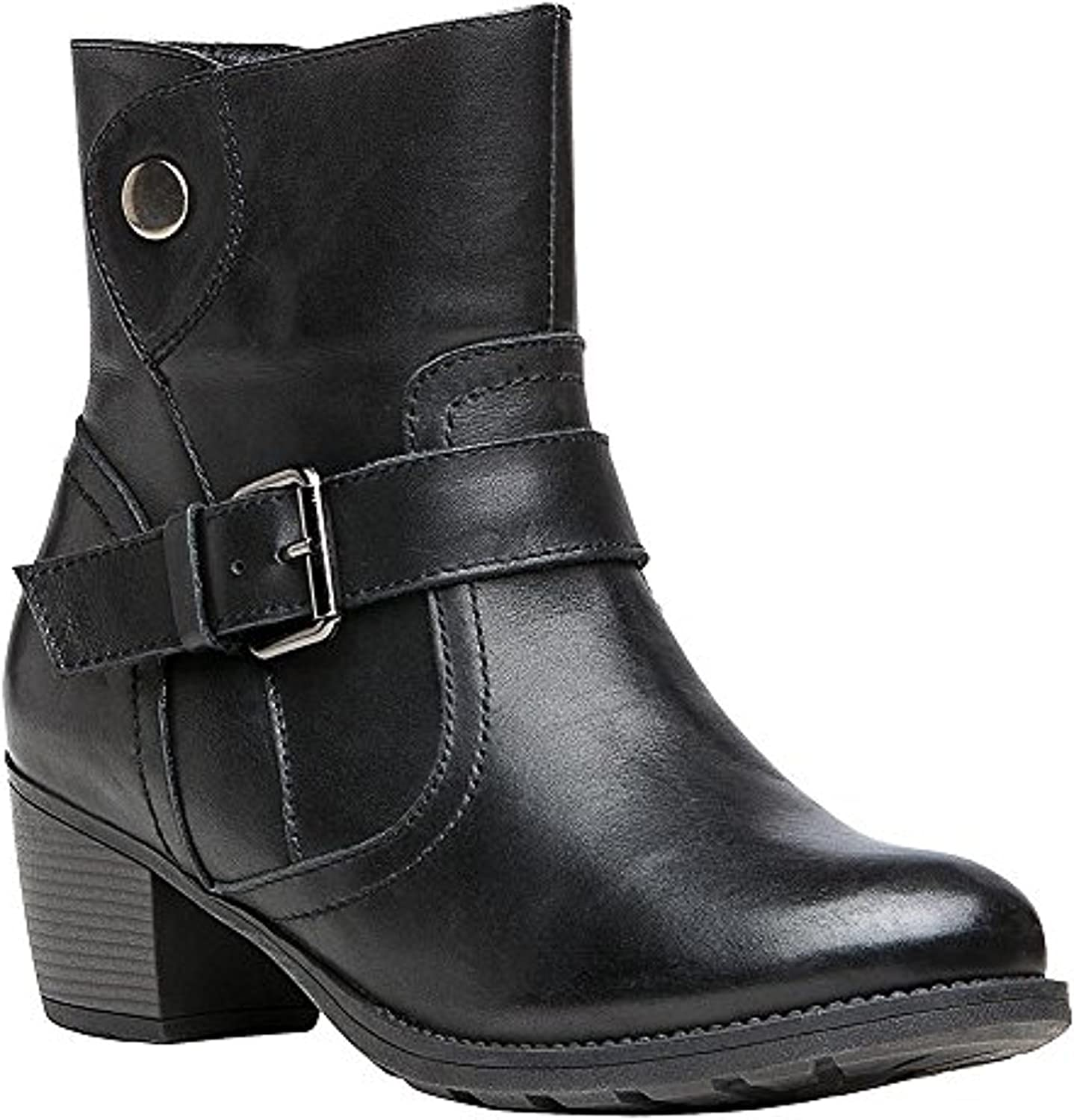 Propet Womens Delaney Boot /& Oxy Cleaner Bundle