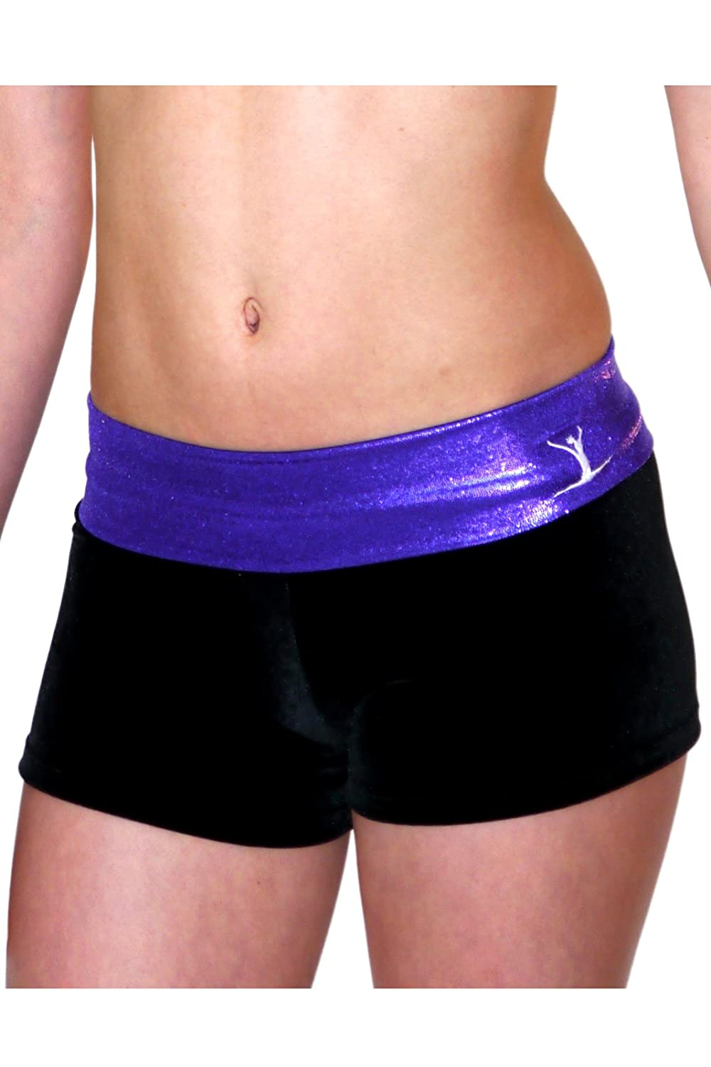 TW Purple/Black Hipster Shorts