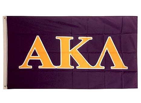 Alpha Kappa Lambda Letter Fraternity Flag Greek