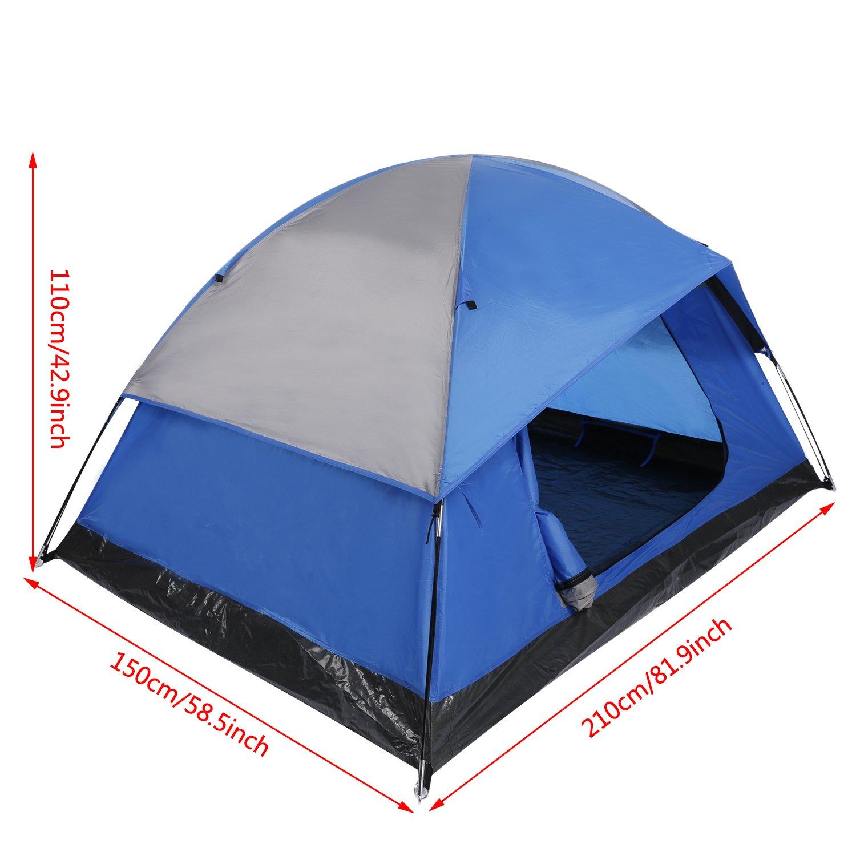 Zelt Pop up Umkleidezelt Portable Wasserdicht mit Aufbewahrungstasche f/ür Outdoor Camping Wandern Tomasa Duschzelt Toilettenzelt