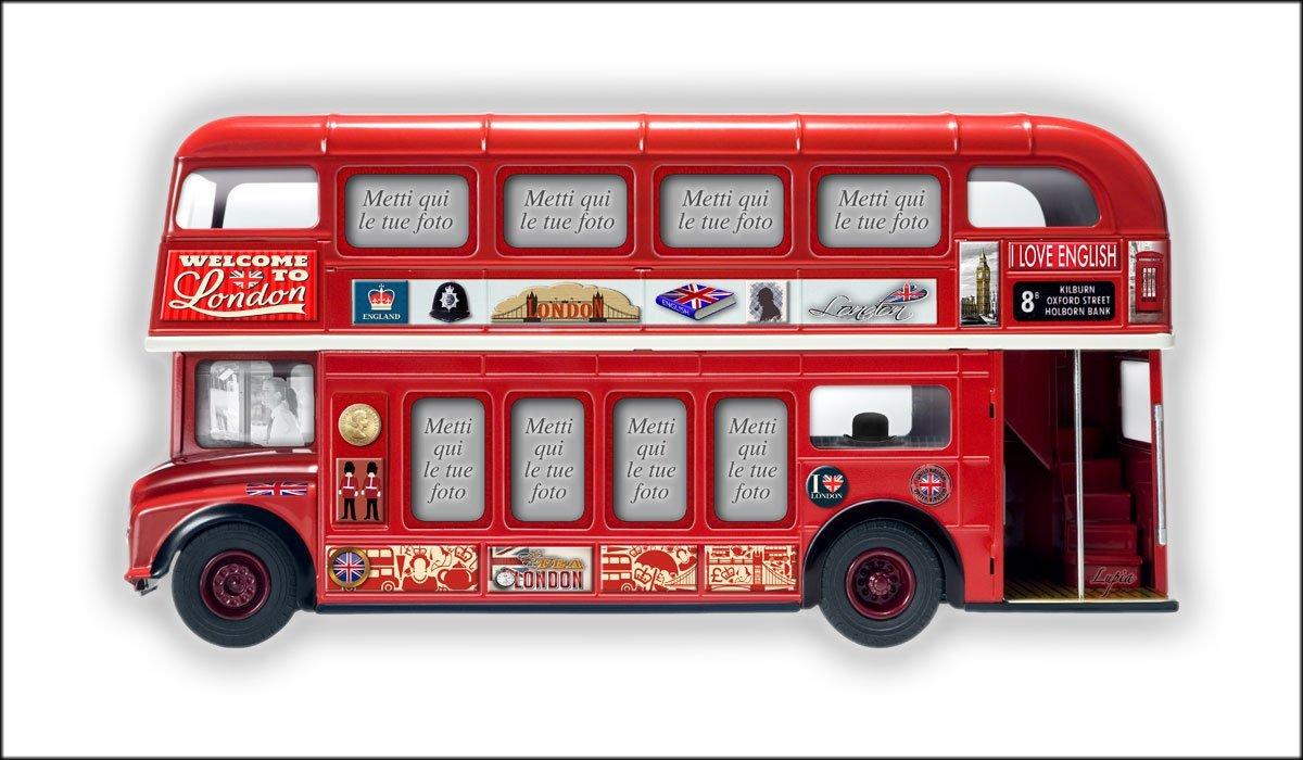 Portafoto da Parete 50X100 cm Londra Bus