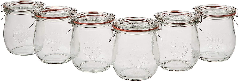 Weck 762 Tulip Jelly Jar SET of 6 by Weck