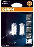 OSRAM LED Premium Retrofit W2.1x9.5d W5W Intérieur 2850CW-02B Cool White 12V Blister Double Set de 2