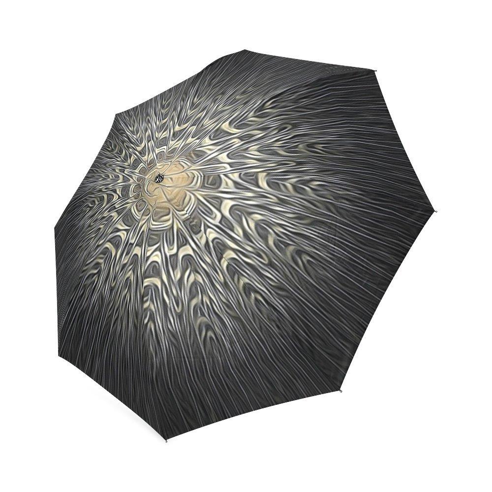 jc-dress plegable paraguas leopardo de pavo real resistente al viento resistente y portátil para viaje: Amazon.es: Hogar
