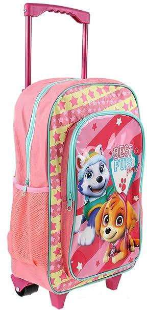 8d239dab25c2 Paw Patrol  Skye  Girls Trolley Backpack School Travel Roller Wheeled Bag