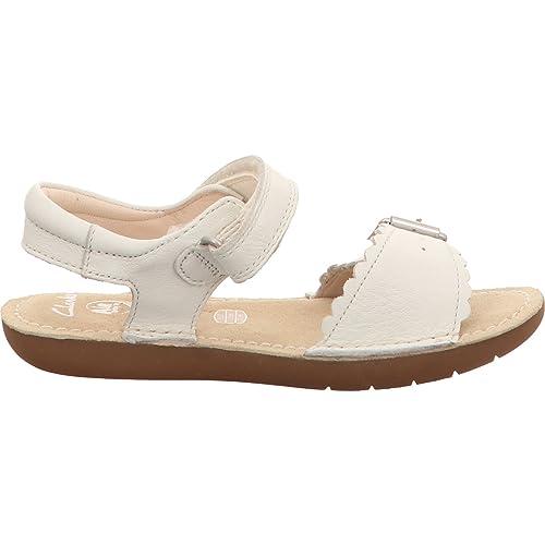 Clarks Sandalen 26.123.687 Ivy Blossom 27 Weiß 8x7nM
