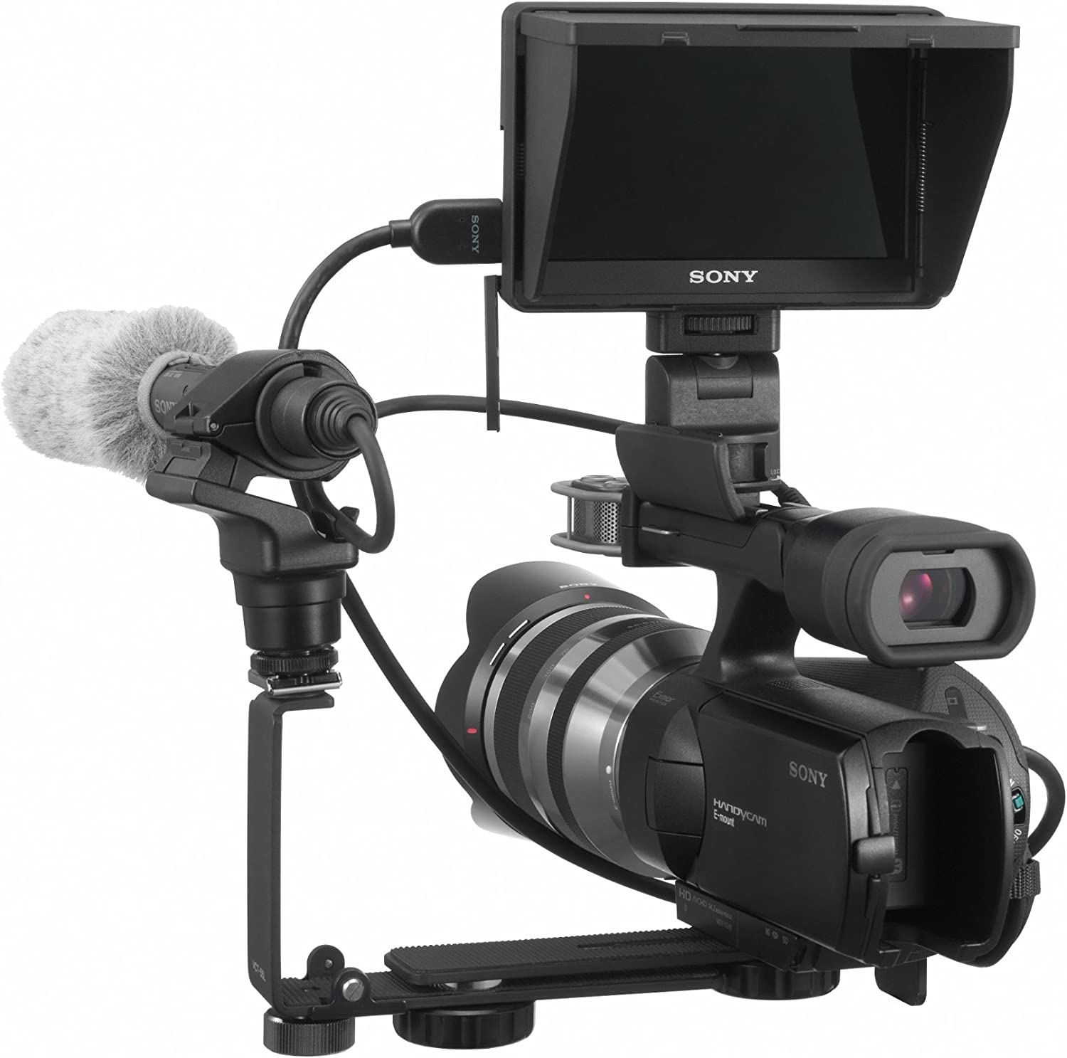 Sony CLM-V55 5-Inch Portable LCD Monitor for DSLR cameras