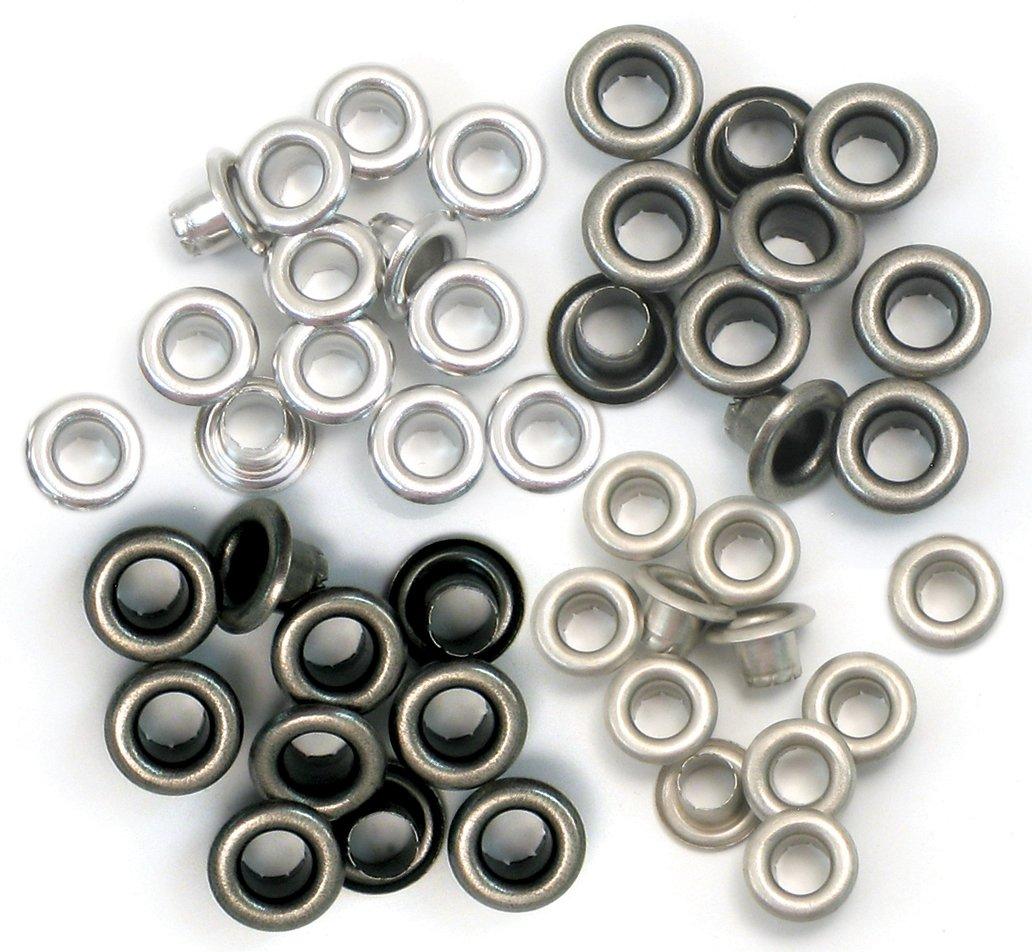 Eyelets Standard 60/Pkg-Cool Metal We R Memory Keepers WER-ES-41584