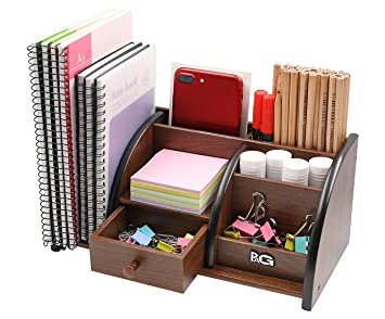 Pag fournitures de bureau en bois organisateur de bureau accessoires