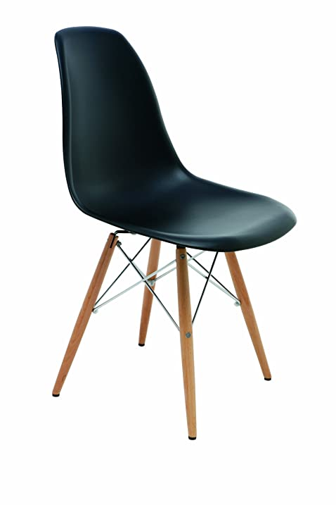 Charlie Dining Chair In Black By Nuevo   HGZX214