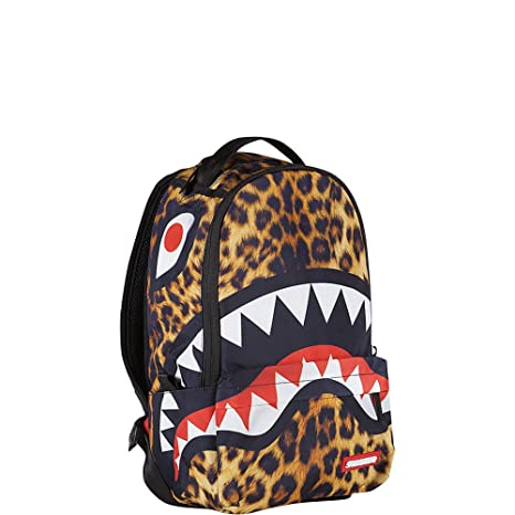 Sprayground Lil Leopard Shark Mini Backpack: