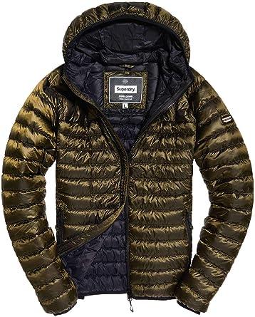 Hooded Jacket Superdry Core de Down Homme Veste Sport NPZ0OknwX8
