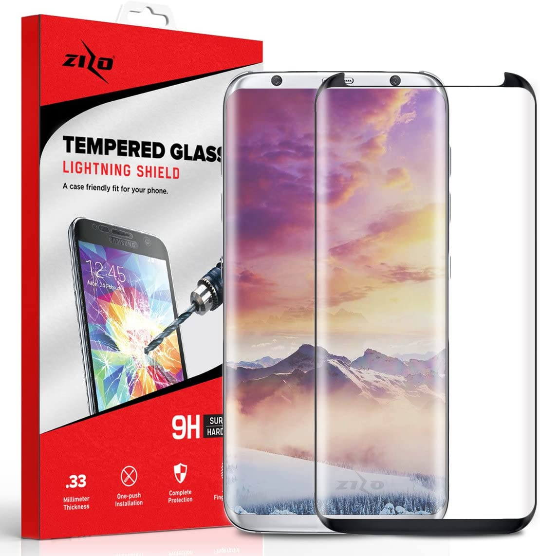 Transparent KOUYU Screen Protectors 25 PCS Edge Glue 3D Curved Edge Full Screen Tempered Glass Film for Galaxy S10e Color : Transparent Tempered Film