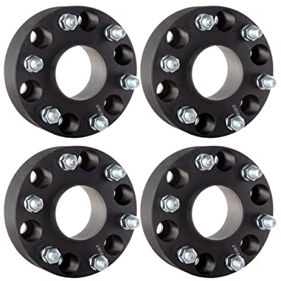 "ECCPP 6x5.5 Hubcentric Wheel Spacers 2 6 lug 4X 2"" 6x5.5 to 6x5.5 6x139.7mm to 6x139.7mm 78.1 Hub Bore 14x1.5 Fits Chevy Chevrolet Silverado Tahoe Sierra 1500 Chevrolet Express 1500: Automotive"