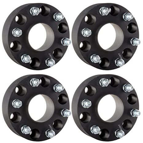 ECCPP Replacement for 6x5 5 Hubcentric Wheel Spacers 6 Lug 4X 2 6x5 5 to  6x5 5  6x139 7mm to 6x139 7mm 78 1 Hub Bore 14x1 5 Fits Chevy Chevrolet