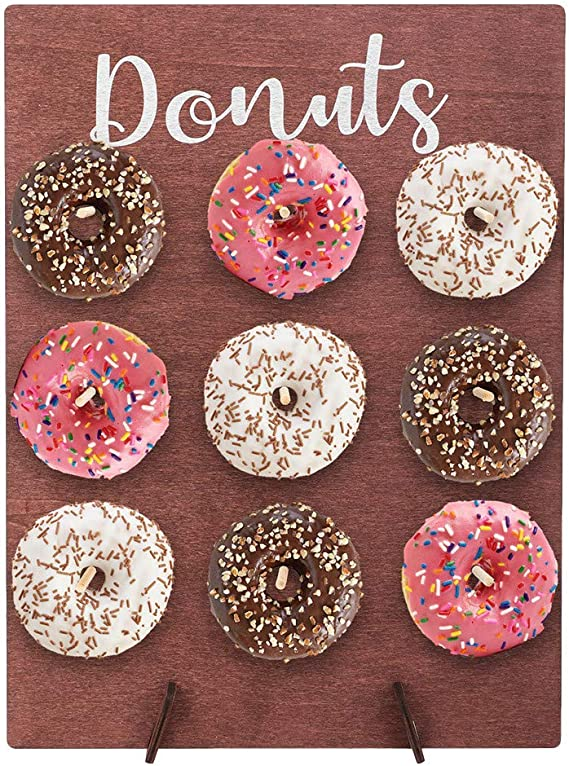 set 11 inch Donut Stand Birthday Party Wedding Favour Table Stands 3pcs