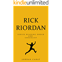 Ultimate Rick Riordan Series Order and Checklist 2018. Percy Jackson series, Trials of Apollo series, Kane Chronicles, Magnus Chase series, Graphic novels and others