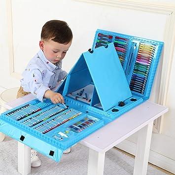 professional kids art paint set artist set 176pcs deluxe crayons