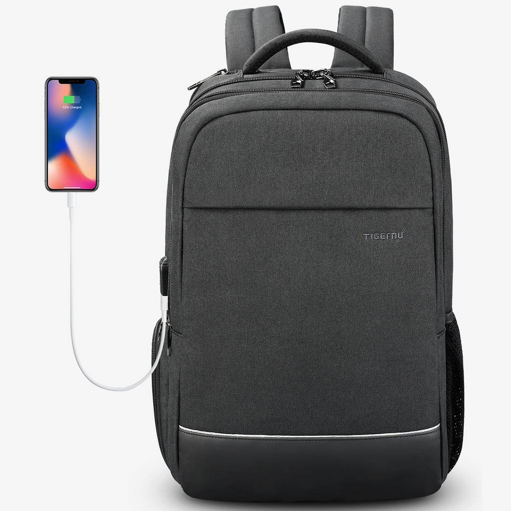 KUPRINE 15.6 inch Business Laptop Backpack for College Students Men &Women, Water Resistant Anti Theft Travel Computer Backpacks for 15 inch MacBook Pro