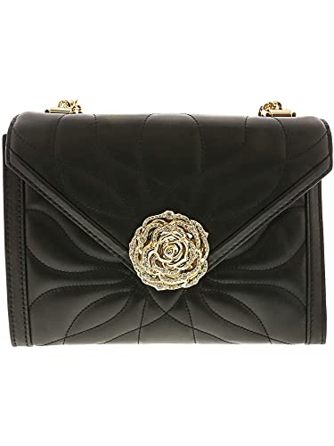 2c0ae21f15661 Michael Kors Women s Whitney Petal Quilted Leather Shoulder Bag - Black   Handbags  Amazon.com