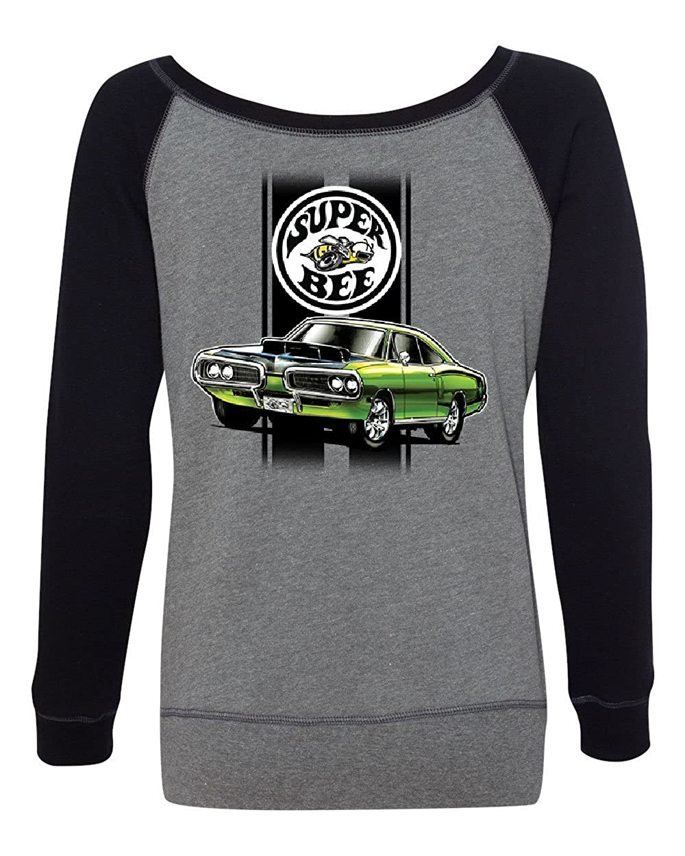 Dodge Green Super Bee Sweatshirt American Classic Muscle Car At Amazon Womens Clothing Store