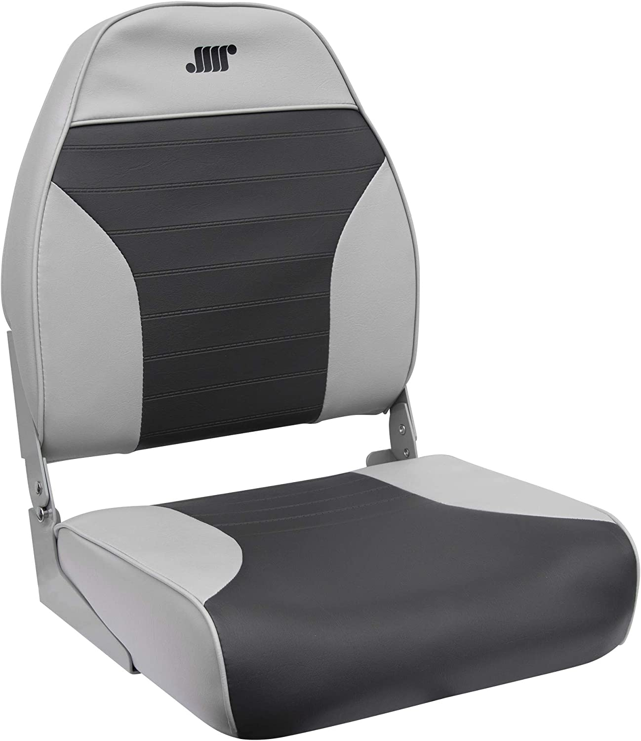 Premium Low Back Boat Seats Fold-Down Boat Accessories for Fishing//Hunting 4 Color 2 Seats