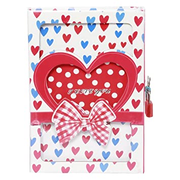 Buy funrobbers valentine love lock diary writing special movement funrobbers valentine love lock diary writing special movement best gift on valentines day rose negle Image collections