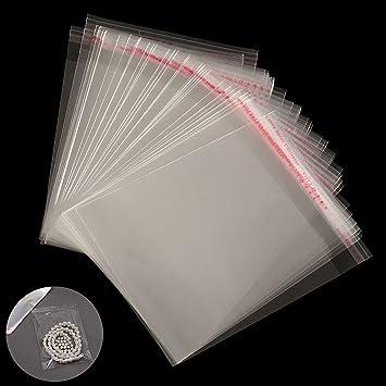 ChenXi Shop - 100 bolsas de celofán transparente ...