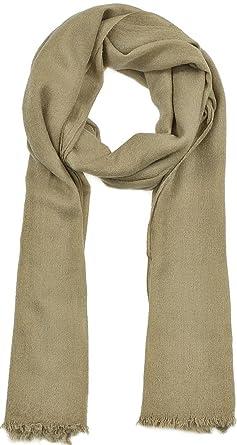 CODELLO, écharpe de style Boho avec Part en laine, foulard, femme, beige 7560daf0b88